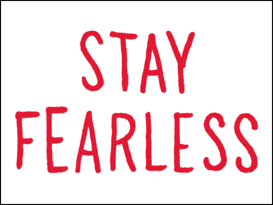 Stay Fearless logo