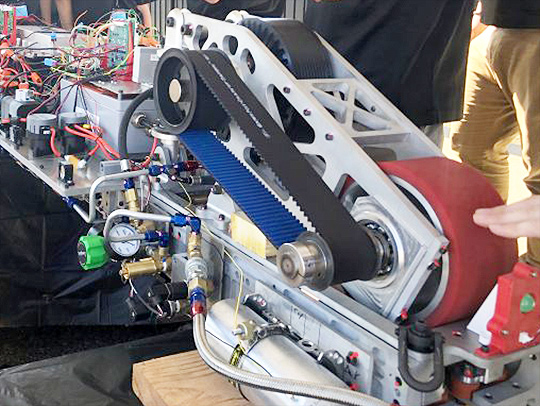 The UMD Loop team previously competed in SpaceX's Hyperloop Pod competition
