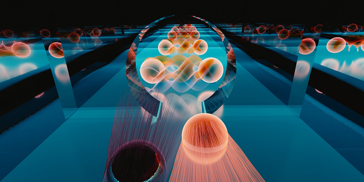 In Klein tunneling, an electron can transit perfectly through a barrier. In a new experiment, researchers observed the Klein tunneling of electrons into a special kind of superconductor